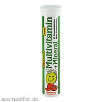 Multivitamin + Mineral Brausetabletten Soma, 20 ST, Amosvital GmbH