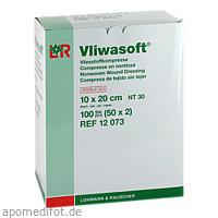 Vliwasoft Vlieskompressen steril 10x20 cm, 50X2 ST, Lohmann & Rauscher GmbH & Co. KG