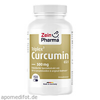 Curcumin Triplex 500 mg, 150 ST, Zein Pharma - Germany GmbH