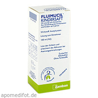FLUIMUCIL KINDERSAFT, 100 ML, Zambon GmbH