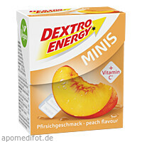 DEXTRO ENERGEN MINIS PFIRSICH, 1 ST, Kyberg Pharma Vertriebs GmbH
