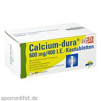 Calcium-dura Vit D3 600mg/400 I.E., 120 ST, Mylan Healthcare GmbH