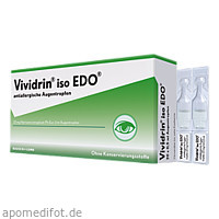 Vividrin iso EDO antiallergische Augentropfen, 20X0.5 ML, Dr. Gerhard Mann