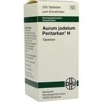 AURUM JODATUM PENTARKAN H, 200 ST, Dhu-Arzneimittel GmbH & Co. KG