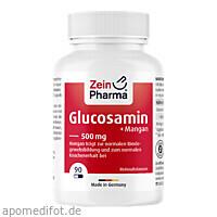 Glucosamin 500mg, 90 ST, Zein Pharma - Germany GmbH