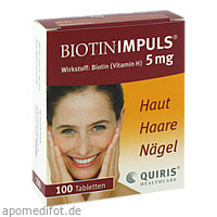 BIOTIN IMPULS 5mg, 100 ST, Quiris Healthcare GmbH & Co. KG