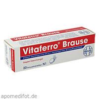 Vitaferro Brause, 20 ST, DR. KADE Pharmazeutische Fabrik GmbH