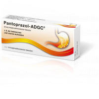 Pantoprazol-ADGC 20mg, 14 ST, Zentiva Pharma GmbH