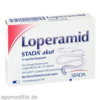 Loperamid STADA akut 2mg Hartkapseln, 10 ST, STADA Consumer Health Deutschland GmbH