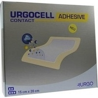 UrgoCell Adhesive Contact 15x20cm, 10 ST, Urgo GmbH