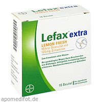 Lefax extra Lemon Fresh, 16 ST, Bayer Vital GmbH