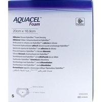 AQUACEL Foam adhäsiv Sakral 20x16.9cm, 5 ST, Convatec (Germany) GmbH