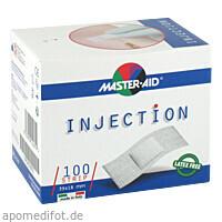 INJECTION strip weiß 39x18mm Master-Aid, 100 ST, Trusetal Verbandstoffwerk GmbH