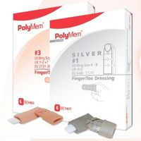 PolyMem Finger Wundschnellverband Gr.2, 6 ST, Mediset Clinical Products GmbH