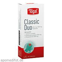 Togal Classic Duo, 30 ST, Kyberg Pharma Vertriebs GmbH