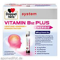 Doppelherz Vitamin B12 Plus system, 30X25 ML, Queisser Pharma GmbH & Co. KG