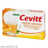 Hermes Cevitt Heisse Orange, 14 ST, Hermes Arzneimittel GmbH