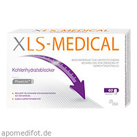 XLS Medical Kohlenhydrateblocker, 60 ST, Omega Pharma Deutschland GmbH