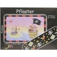 KINDERPFLASTER PIRATEN - BRIEFCHEN, 10 ST, Axisis GmbH