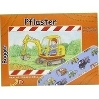 KINDERPFLASTER BAGGER - BRIEFCHEN, 10 ST, Axisis GmbH