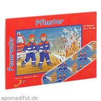 KINDERPFLASTER FEUERWEHR - BRIEFCHEN, 10 ST, Axisis GmbH