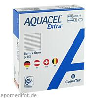 AQUACEL Extra 5x5cm, 10 ST, Convatec (Germany) GmbH