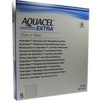 AQUACEL Extra 15x15cm, 5 ST, Convatec (Germany) GmbH