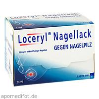 Loceryl Nagellack gegen Nagelpilz, 3 ML, Galderma Laboratorium GmbH