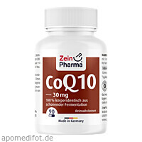 Coenzym Q10 Kapseln 30mg, 90 ST, Zein Pharma - Germany GmbH