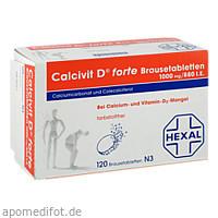 Calcivit D forte Brausetabletten, 120 ST, Cheplapharm Arzneimittel GmbH
