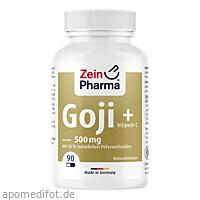 Goji Kapseln 500mg, 90 ST, Zein Pharma - Germany GmbH