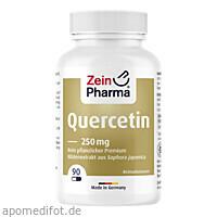 Quercetin Kapseln 250mg, 90 ST, Zein Pharma - Germany GmbH