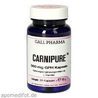 Carnipure 360 mg GPH Kapseln, 30 ST, Hecht-Pharma GmbH