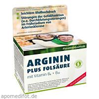 Arginin Plus Folsäure Kapseln, 120 ST, Pharma Lupus GmbH