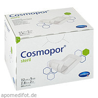 COSMOPOR steril 7.2 x 5 cm, 50 ST, 1001 Artikel Medical GmbH