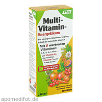 Multi-Vitamin-Energetikum Salus, 250 ML, Salus Pharma GmbH
