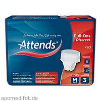 Attends Pull-Ons Discreet 3 Medium, 12 ST, Attends GmbH