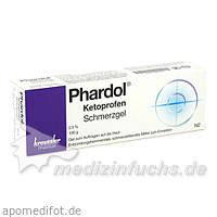 Phardol Ketoprofen Schmerzgel, 100 G, Chem. Fabrik Kreussler & Co. GmbH