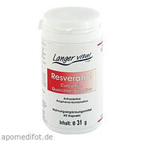 Resveratrol Curcumin, 60 ST, Langer Vital GmbH