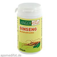 Ginseng 200mg Lecithin, 60 ST, Langer Vital GmbH