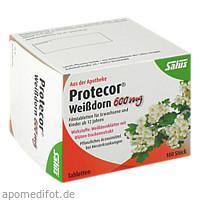 Protecor Weißdorn 600mg Filmtabletten, 100 ST, Salus Pharma GmbH