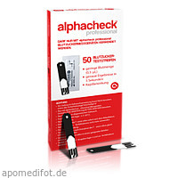 alphacheck professional Blutzuckerteststreifen, 50 ST, Berger Med GmbH