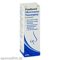 Panthenol Meerwasser Nasenspray Jenapharm, 20 ML, Mibe GmbH Arzneimittel