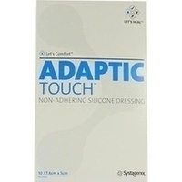 ADAPTIC TOUCH 7.6x5cm NON-ADHER.SIL.D.Wundgaze, 10 ST, Bios Medical Services GmbH
