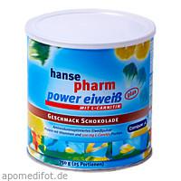 Hansepharm Power Eiweiß plus Schoko, 750 G, NUTRICHEM DIÄT + PHARMA GmbH