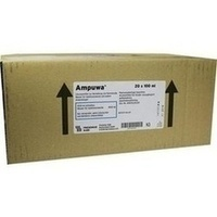 Ampuwa Lösungsmittel zur Herst.von Parenteralia, 20X100 ML, Fresenius Kabi Deutschland GmbH