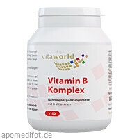 Vitamin B Komplex, 100 ST, Vita World GmbH