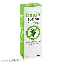 Linicin Lotion 15min (ohne Läusekamm), 100 ML, Meda Pharma GmbH & Co. KG