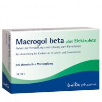 Macrogol beta plus Elektrolyte Pulver, 10 ST, betapharm Arzneimittel GmbH