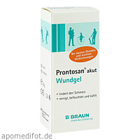 Prontosan akut Wundgel, 30 G, B. Braun Melsungen AG